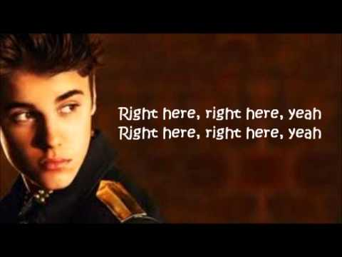 Justin Bieber   Right Here ft Drake Letra