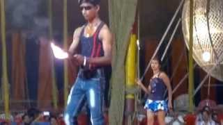 Fire Stunt at Indian Circus (Live Video) (720p HD)