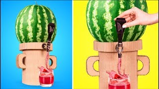 Watermelon DIY: An Awesome Keg + Stand