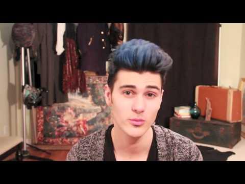 Blue Black Hair Update Youtube