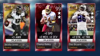 Madden 13 Ultimate Team : 14 Legendary Pack Openings I Search For Golden Ticket