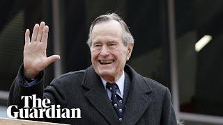 George HW Bush, 41st US president, dies aged 94