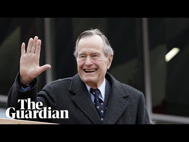George Hw Bush Former Us President Dies Aged 94 Us News The