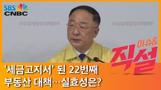 [이슈& 직설] '세금고지서' 된 22번째 부동산 대책…실효성은?