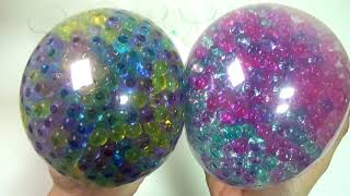 Combine Orbeez Balloons Surprise Egg Toys Stressball Play for Kids