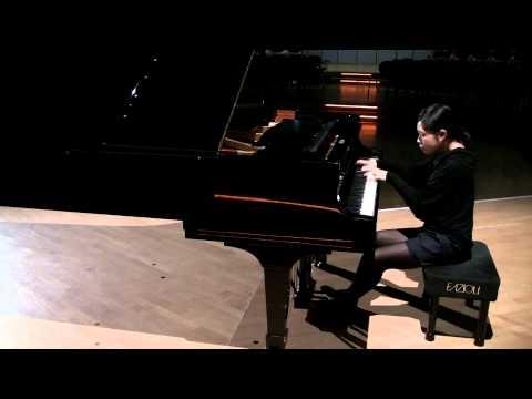 "Sukyeon Kim plays Kapustin Etude op. 40 no. 6 ""Pastorale"""