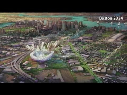 Why was Boston's 2024 Olympic bid dropped?