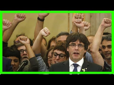 US Newspapers - Puigdemont has right to appeal in case of arrest warrant - source
