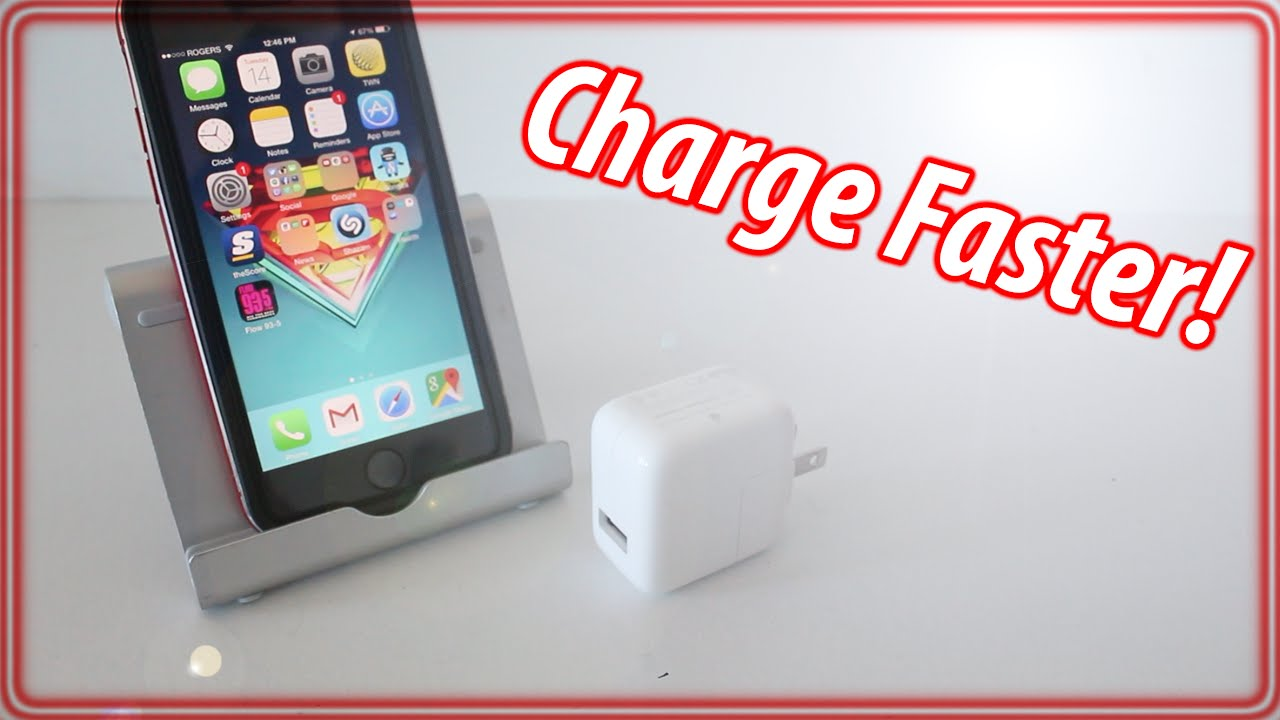 how to make your iphone charge faster how to charge iphone faster iphone amp ipod touch 1093