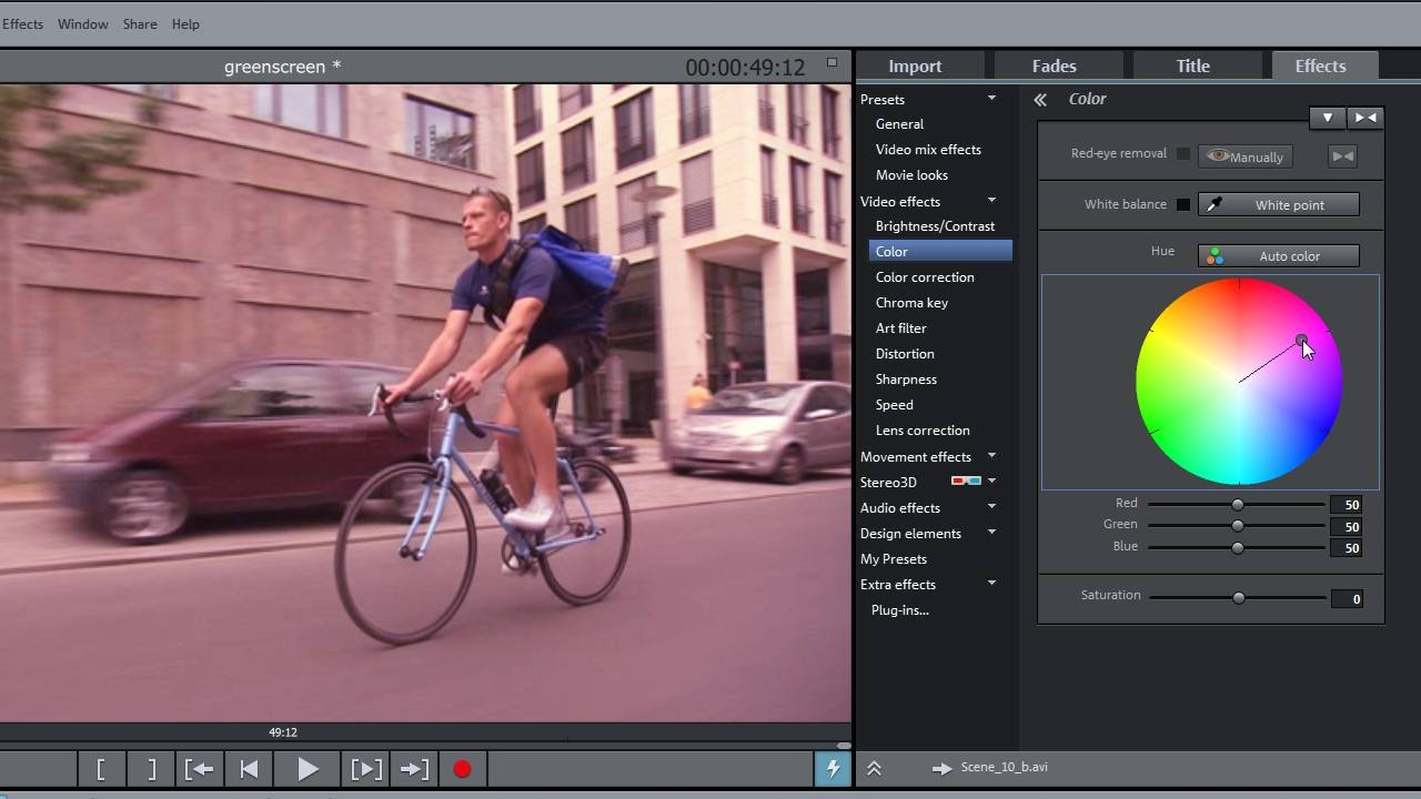 Magix Movie Edit Pro 2016 Video Effects Tutorial Int