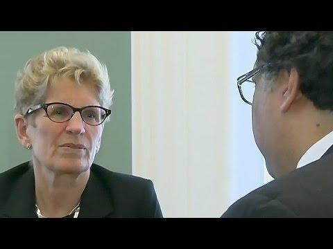 Calgary mayor apologizes to Wynne over legislature ridicule
