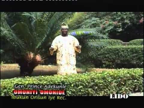 "Gen. Prince Adekunle ""Omoniyi Omonide"" Part 1"