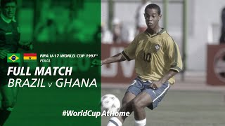 Brazil v Ghana  1997 FIFA U-17 World Cup Final  Full Match