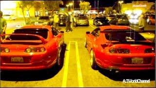 twin turbo toyota supra revs exhaust sound toyota ft 1 or supra