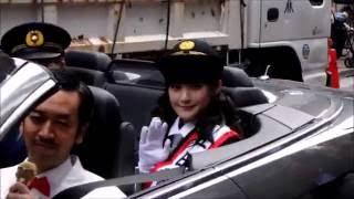 2016年10月13日に嗣永桃子さんが麻布警察の1日署長になったときのイベン...