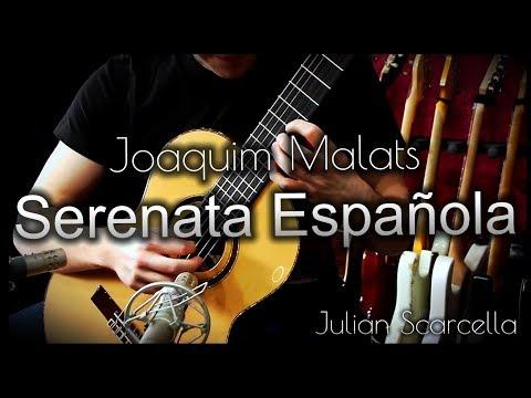 Serenata Española by Joaquim Malats (Classic Guitar Cover)| Ortega M9CS, Engl A101, D�rio Ej51