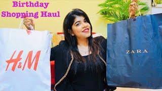 Birthday Shopping Haul | Zara , H&M , TheFaceShop, Mac, VeroModa, Bata