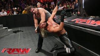 Dean Ambrose vs. Seth Rollins - WWE App Vote Match: Raw, Aug. 18, 2014