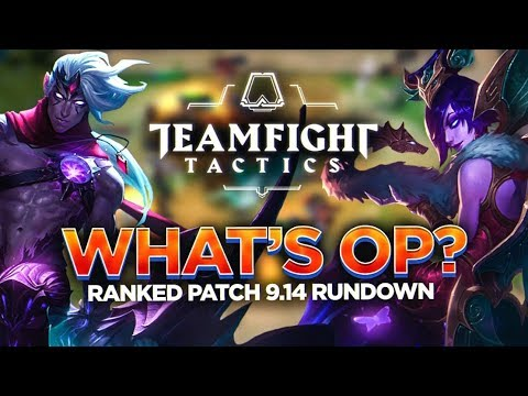 WHAT'S OP IN RANKED? | TFT Ranked Patch Rundown