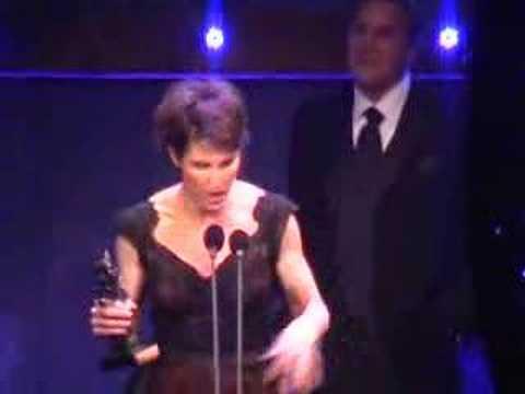Tamsin Greig acceptance speech