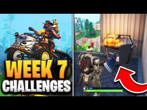 Fortnite Season 9 Week 7 Challenges GUIDE! How To Do Week 7 Challenges In Fortnite - Tutorial