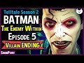 The Honest Batman Episode 5 Good Choices Batman The Enemy Within Game Joker Ending