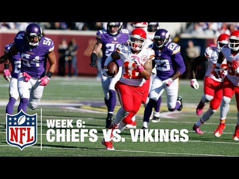 Alex Smith Hits WR Albert Wilson for a Huge Catch-'n-Run TD | Chiefs vs. Vikings | NFL