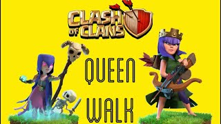 QUEEN WALK - WITCH SLAP ( clash of clans townhall 9 th9)