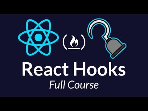 React Hooks - Crash Course Tutorial thumbnail