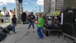 "FLAG (Black Flag) III Soundcheck, ""Thirsty & Miserable"" Punk Rock Bowling, Las Vegas, Nevada 5/25/19"
