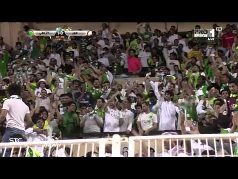 هدف مباراة الأهلي ضد هجر في الجولة 23 من دوري عبداللطيف جميل