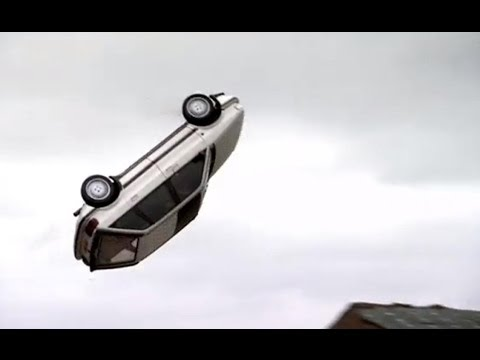 EPIC Barrel Roll stunt! James May's 2nd attempt - Top Gear at the Movies