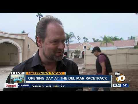 Del Mar Racetrack Trainer Speaks On 2019 Opening Day