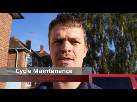 Cycle Maintenance   Thorough Road Bike Clean