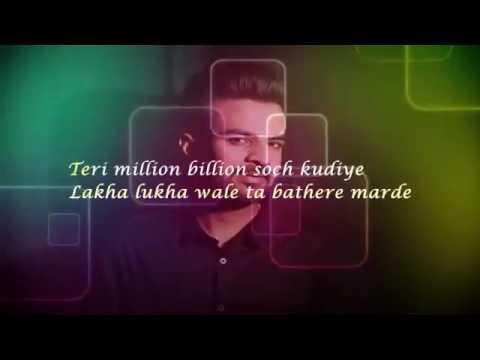 Main Tan Vi Pyar Kardan Lyrics By Happy Raikoti Ft  Milind Gaba