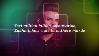 Main Tan Vi Pyar Kardan Lyrics By Happy Raikoti ft  Milind Gaba