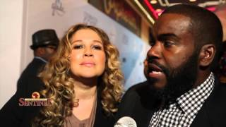 Rodney Jerkins and Joy Enriquez at the BET Celebration of Gospel