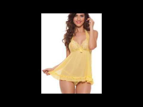 Babydoll Lingerie, Buy Sexy Babydoll Night Dress Online