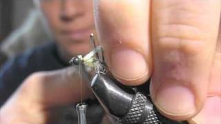 Driftless Caddis Emerger: The Krazy Karl© tied by Karl Smithback