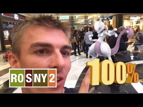 Pokemon GO FR : Mewtwo 100% à ROSNY 2