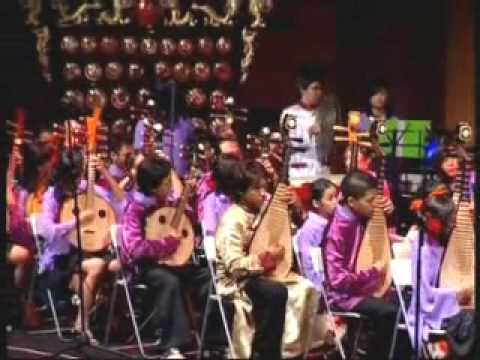 Indonesian Chinese Traditional Orchestra played Western Classical Music