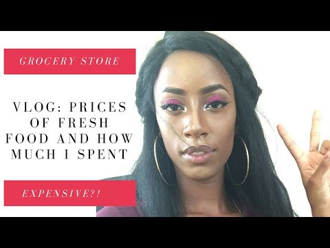 Vlog: Prices of fresh food and how much I spent