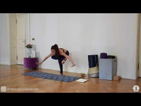 Yoga Pills 5 Eka Pada Galavasana Tutorial