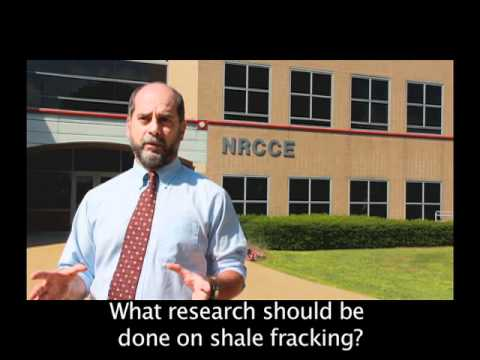 What research should be done on shale fracking?