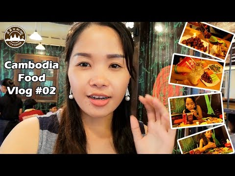 INCREDIBLE CAMBODIA FOOD: EATING DELICIOUS AT TPR COFFEE & PIZZA NAK MAE | FOOD VLOG #02