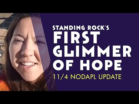 The First Glimmer Of Hope? 11/4 NODAPL Update