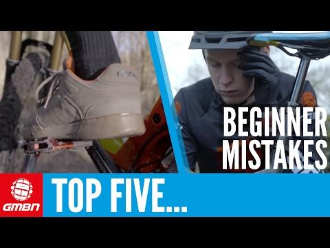 Top 5 Beginner Mountain Bike Mistakes   MTB Skills