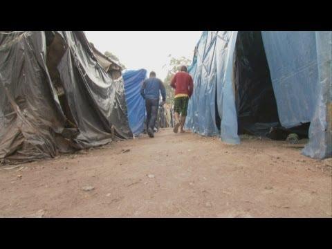 Homeless World Cup - inside Sao Paulo's 'people's camp'