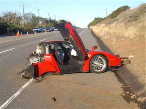 car luxury crash  Luxury car crashes - YouTube