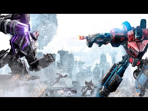 Transformers War For Cybertron Full Movie All Cutscenes
